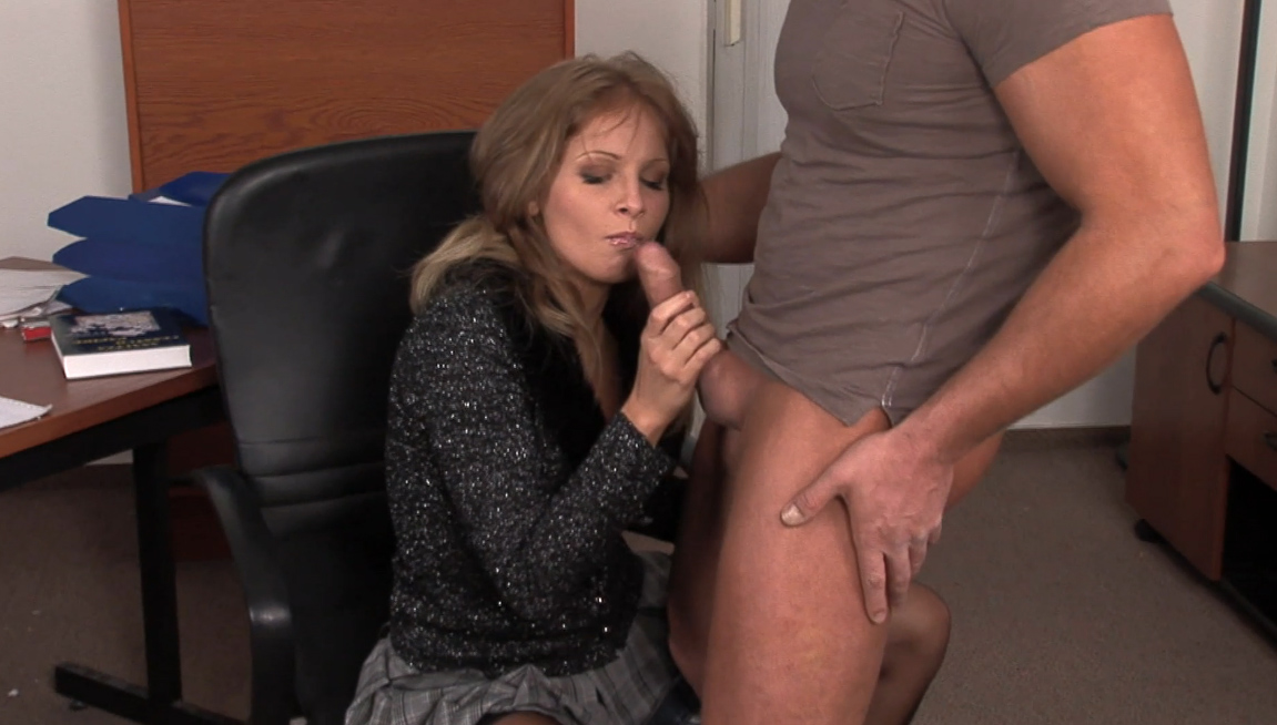 Office pussy